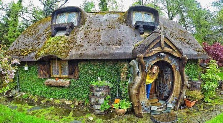 Biliyor muydun ? /// Kendine bir Hobbit evi yapan kadın: Stuart Grant
