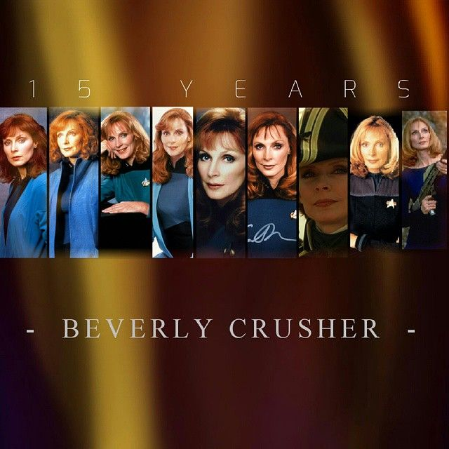 """Gefällt 105 Mal, 6 Kommentare - STAR TREK (@star_trek_pictures) auf Instagram: """"AND THE LAST one for today an edit for Doctor BEVERLY CRUSHER. HOPE YOU LIKE IT ❤. ANY WISHES FOR…"""""""