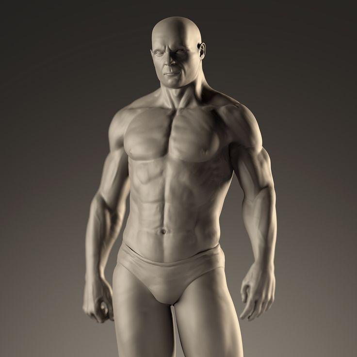 ArtStation - Anatomy Study, Christian Garrido
