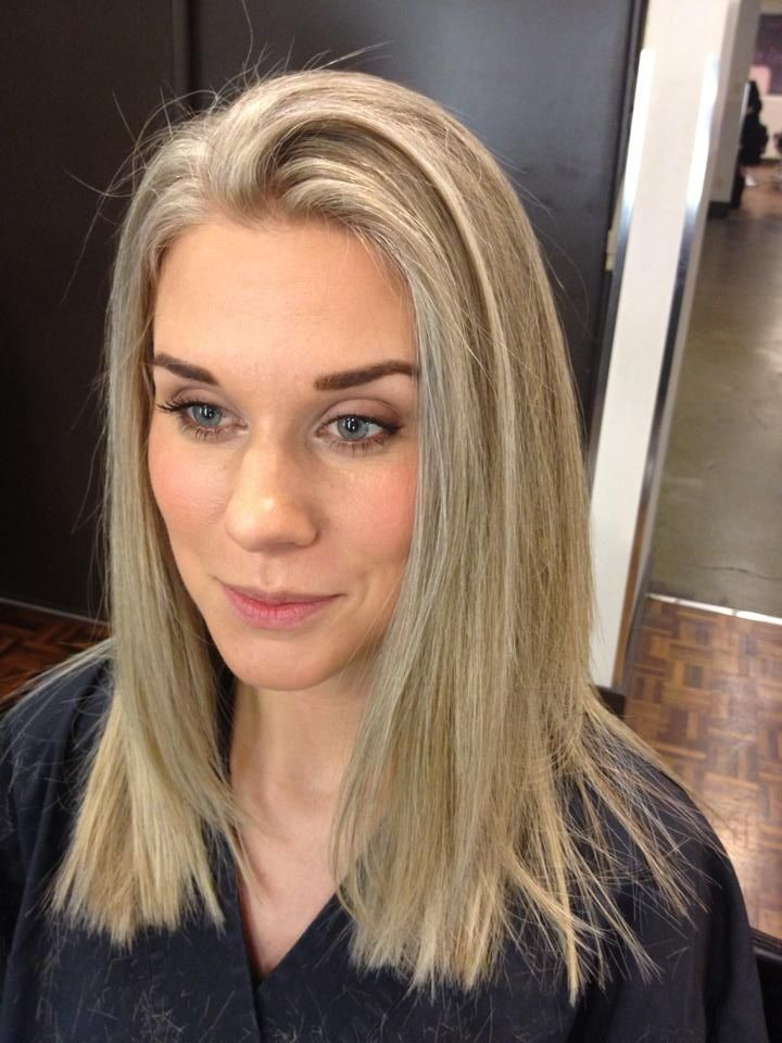 Highlights, blond, natural