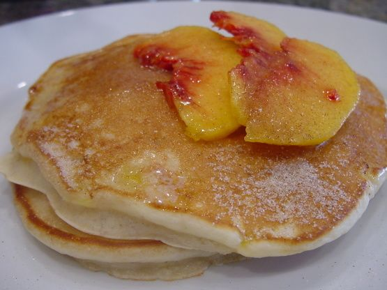 Peach Pancakes Recipe - Food.com