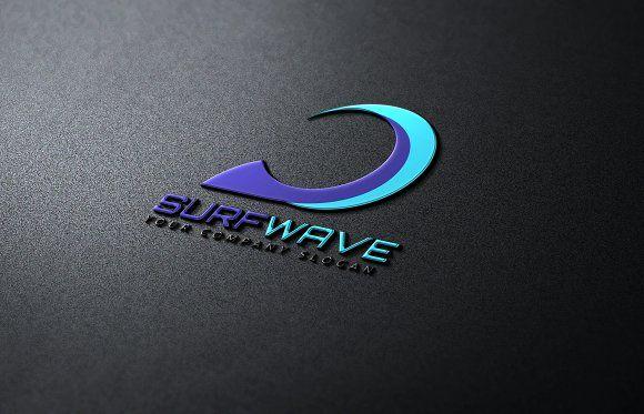 Surf Wave by Super Pig Shop on @creativemarket