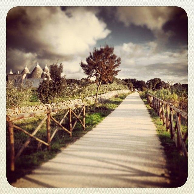 .@_michelericci | Apulian Acqueduct Bikeway. #trullilovers #valleditria #cisternino #locorotond... | Webstagram