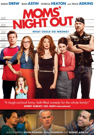 Moms' Night Out {review & giveaway} - Titus 2 Homemaker -- Have a moms' night in with Moms' Night Out!   #giveaway #movie #moviereview