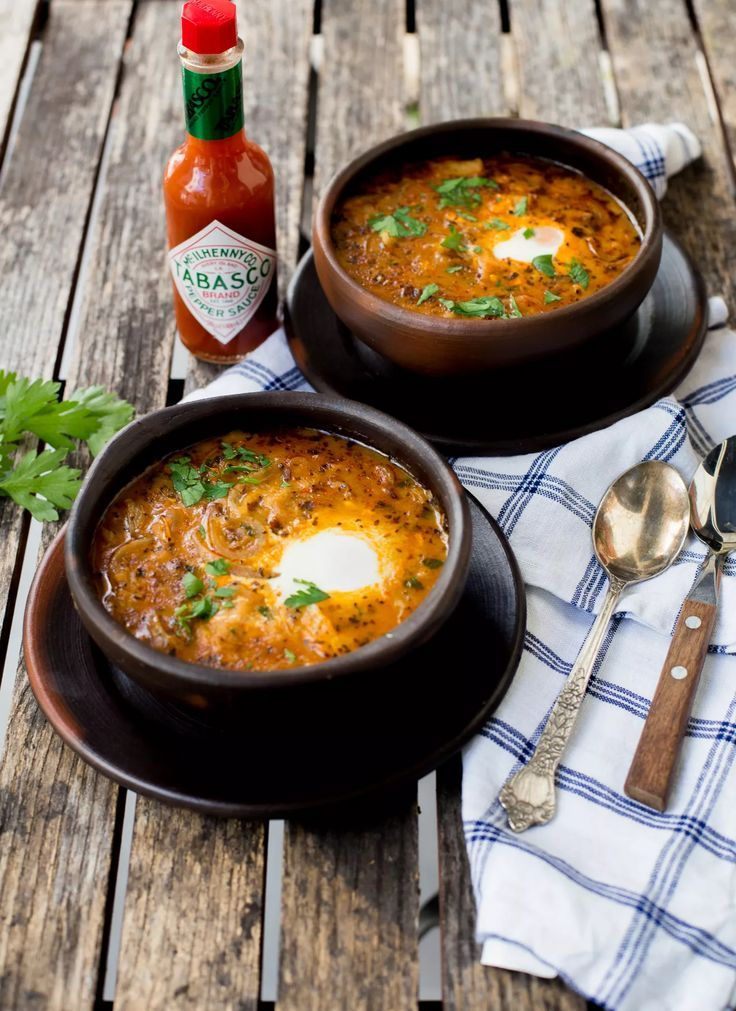 A beautifully prepared traditional soup from Chile, made with dried beef, onions, herbs and spices. Pilar of http://www.enmicocinahoy.cl replaces the chili sauce from her grandmother's recipe with our Original Red.