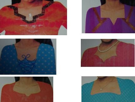 Fashion Designing: Neck work and its design