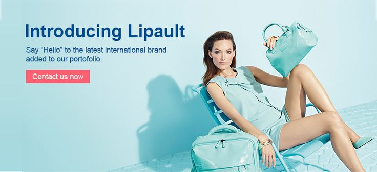Lipault web banner design for LuggageB2B.be