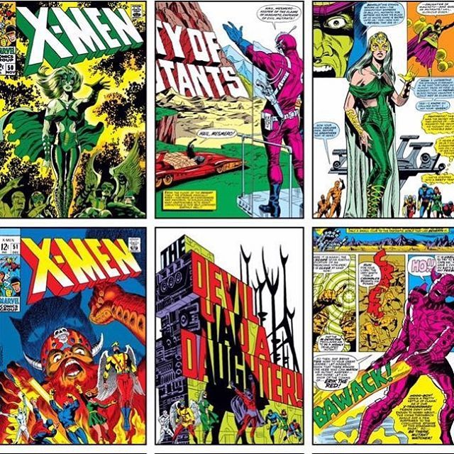 X Men 50 2nd Polaris 51 1st Erik The Red 1968 By Jim Steranko 53 1969 By Barry Smith Are Interesting Issues Jack Kirby Art Wonder Woman Comic Hulk Comic