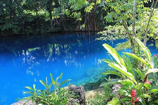 The Blue Hole, Luganville Vanuatu. This is in the middle of nowhere. The most natural beautiful thing you would ever see. It reminded me of the movie the beach. but a miniature version.