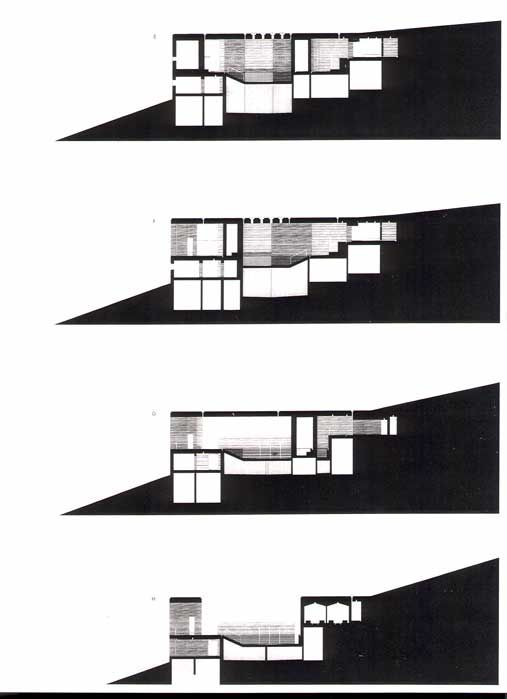 peter zumthor therme vals section - Google Search