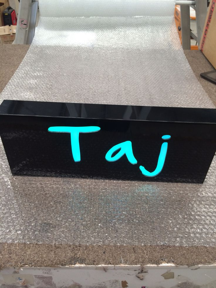 Personalised Light For Taj