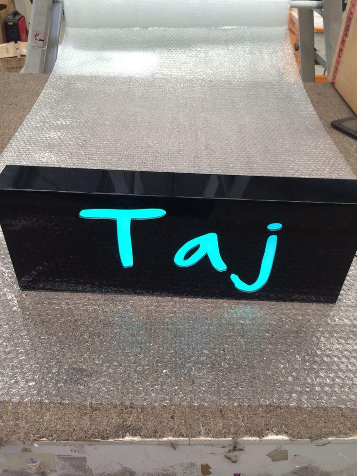 Personalised Light For Taj