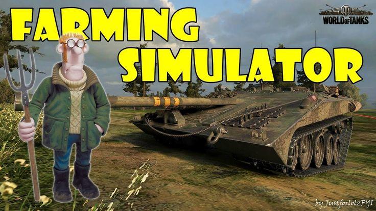 World of Tanks - Swedish Farming Simulator! [STRV S1   7000 DMG by xCHAV...