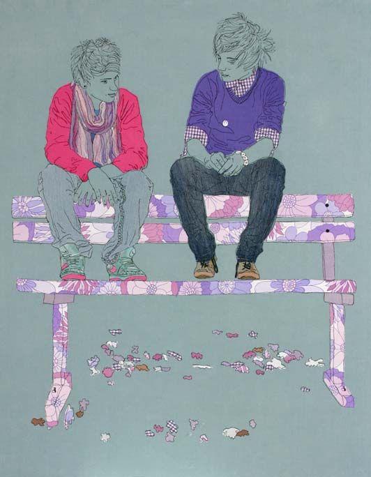 Caroline Kirton - stitched snapshots of life