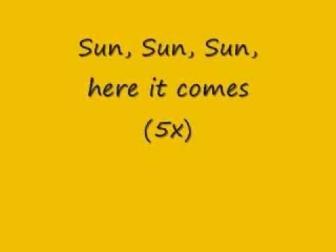 Morning song The Beatles - Here Comes the Sun (Lyrics)