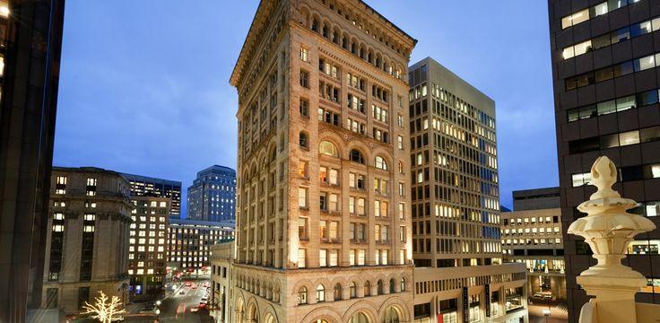Ames Boston Hotel, Curio Collection by Hilton, MA - Hotel Exterior