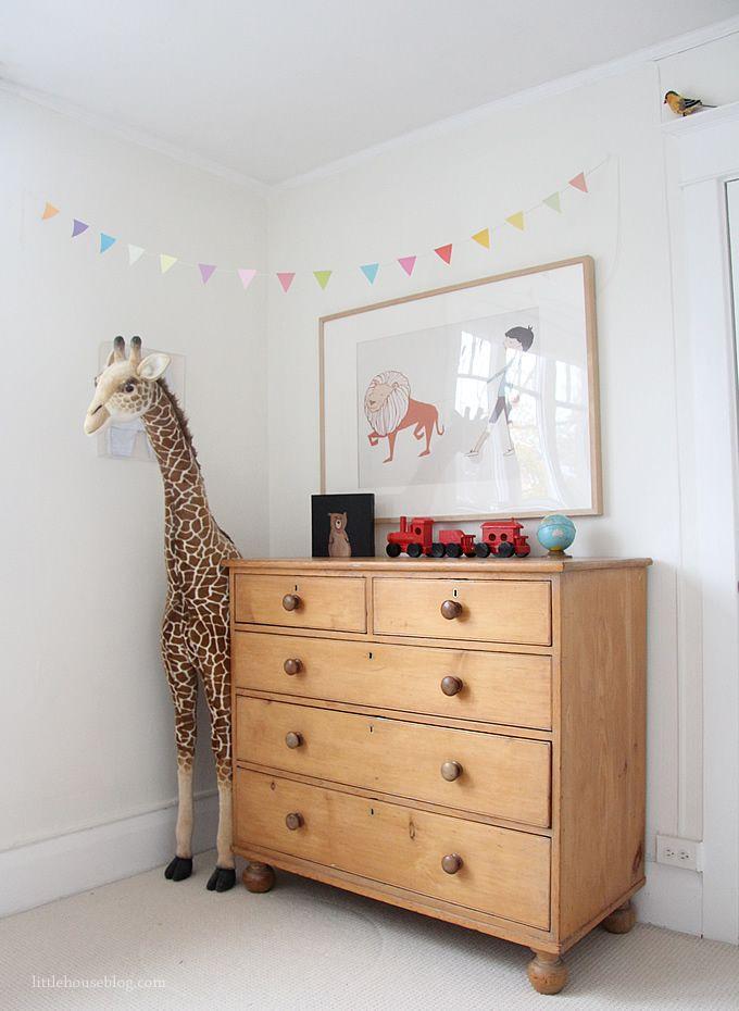 Nursery to Toddler Room... | November 4, 2012 | aubreyandlindsay.blogspot.com | pine dresser from guffonline.blogspot.ca