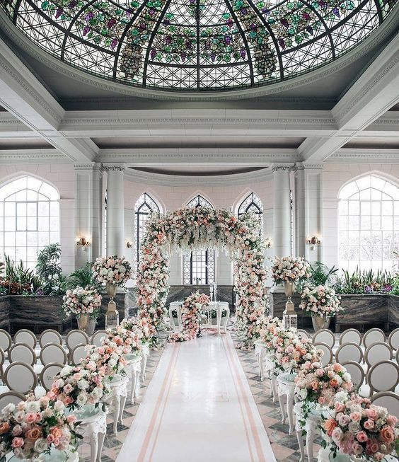 White Luxury Wedding Decor With Wonderful And Beautiful: 49 Stunningly Beautiful Decor Ideas For The Most