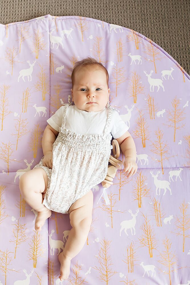 Play Mat- Golden Deer Valley Lilac