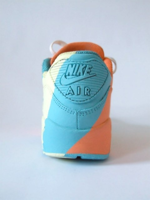#Nike #AirMax #DIY custom Kick. #Design