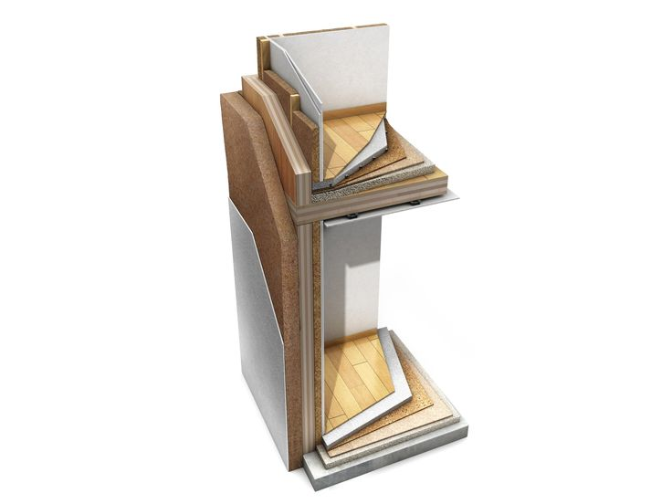 Sistema costruttivo in legno Pareti in legno a pannello (x-lam) by LignoAlp