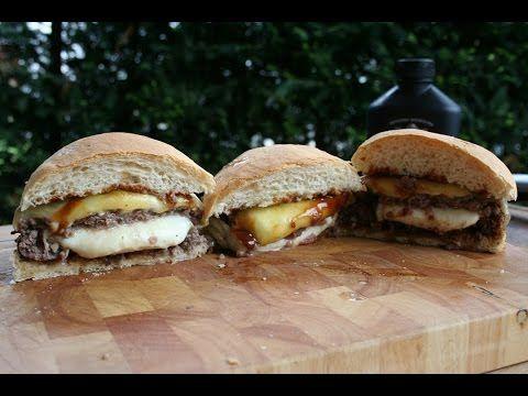 Der Bacon-Jam Stufz Burger & Der Burger gefüllt mit sautierten Champignons - YouTube