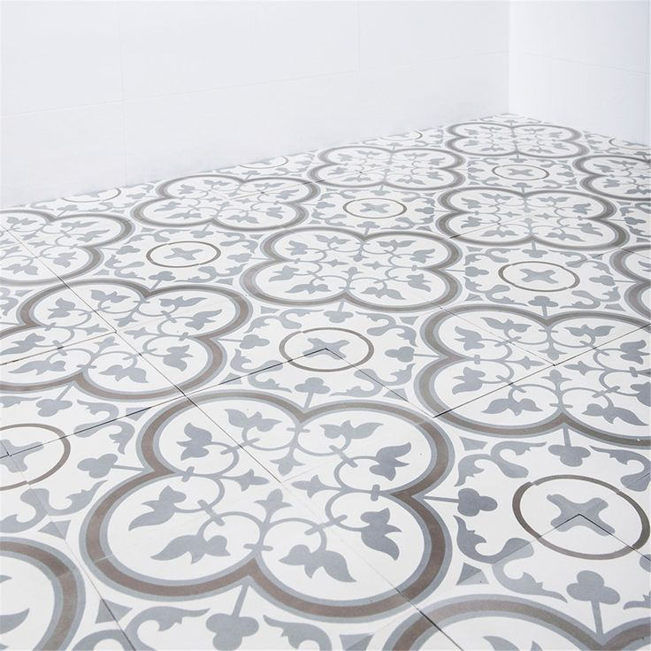 Marokkansk Flis Safi Grå 20x20 cm 58137373