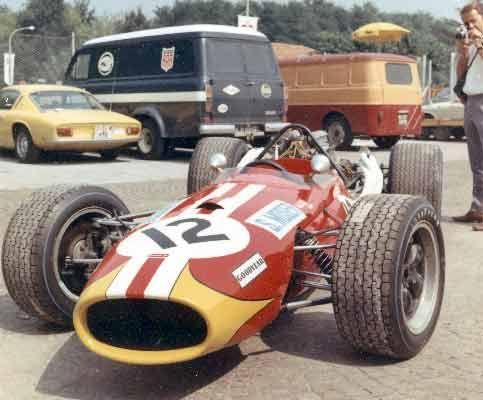 silvio moser | Der Brabham Repco BT20 – 2 V8 3000cc im Park von Monza 1968