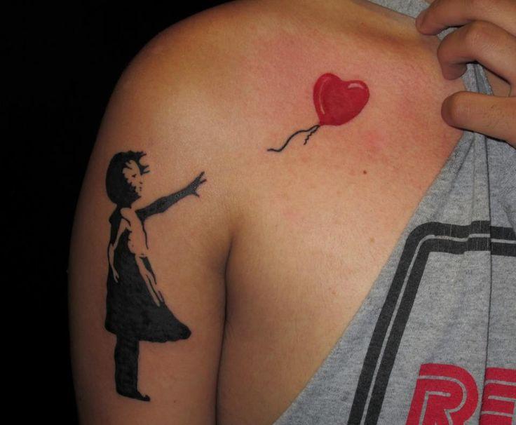 girls shoulder tattoos