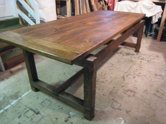 53 best images about farmhouse table diy on pinterest for Building a farmhouse