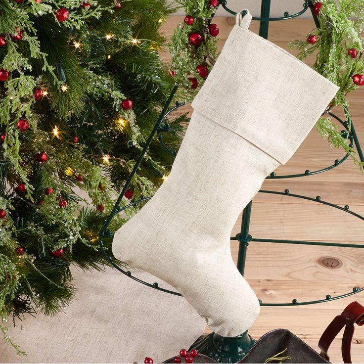 Linen Stockings Christmas