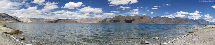 Pangong Tso Lake Leh Ladakh [4000 x 851]