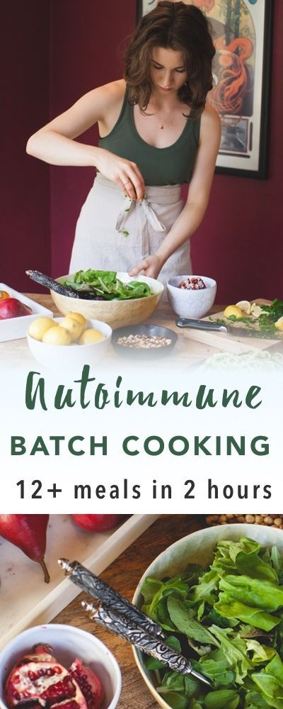 Autoimmune Paleo Batch Cooking game plan | Empowered Sustenance