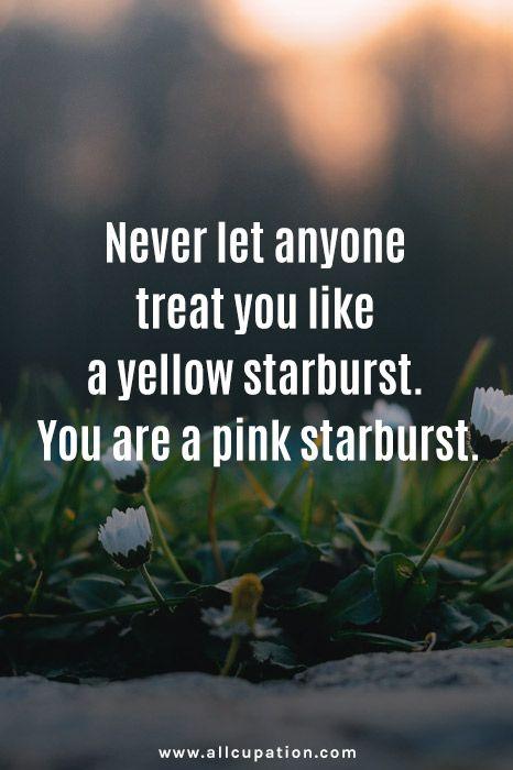 I never understood this, yellow starbursts are gooooooooood.