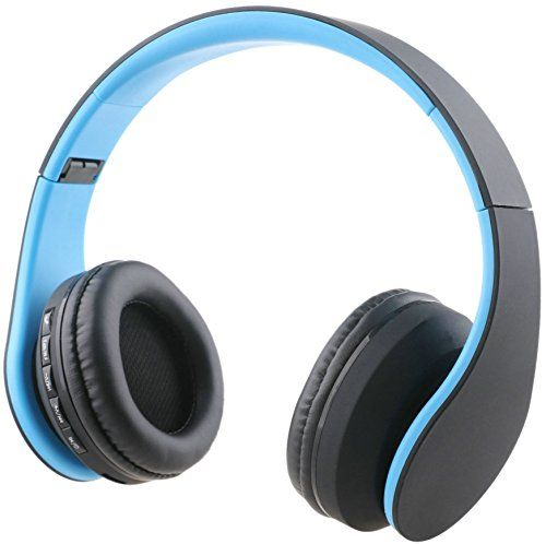 Special Offers - iRunzo Over Ear Stereo Wireless Bluetooth Headset Headphone with Mic 3.5mm Jack FM Radio Memory Card MP3 Noise Canceling Folding Strech for iPhone LG Samsung Sony PC Xbox Ps4 Gaming Sports(Blue) - In stock & Free Shipping. You can save more money! Check It (September 27 2016 at 06:21AM)…