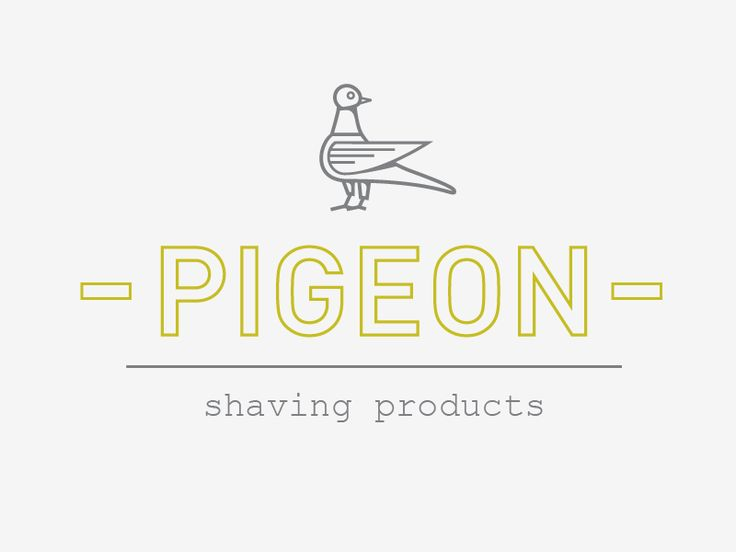 Type combination : Pigeon Shaving Products by Sergey Grigoryan