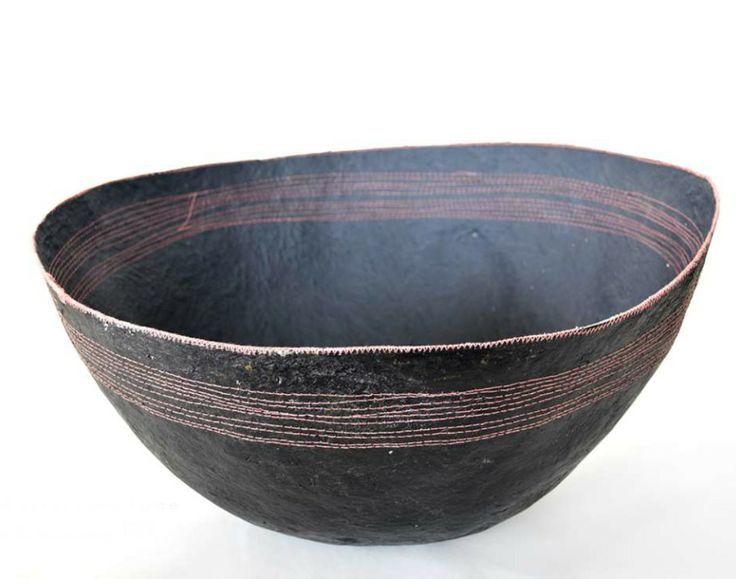 #eco #designer #African #fairtrade recycled paper pulp bowls