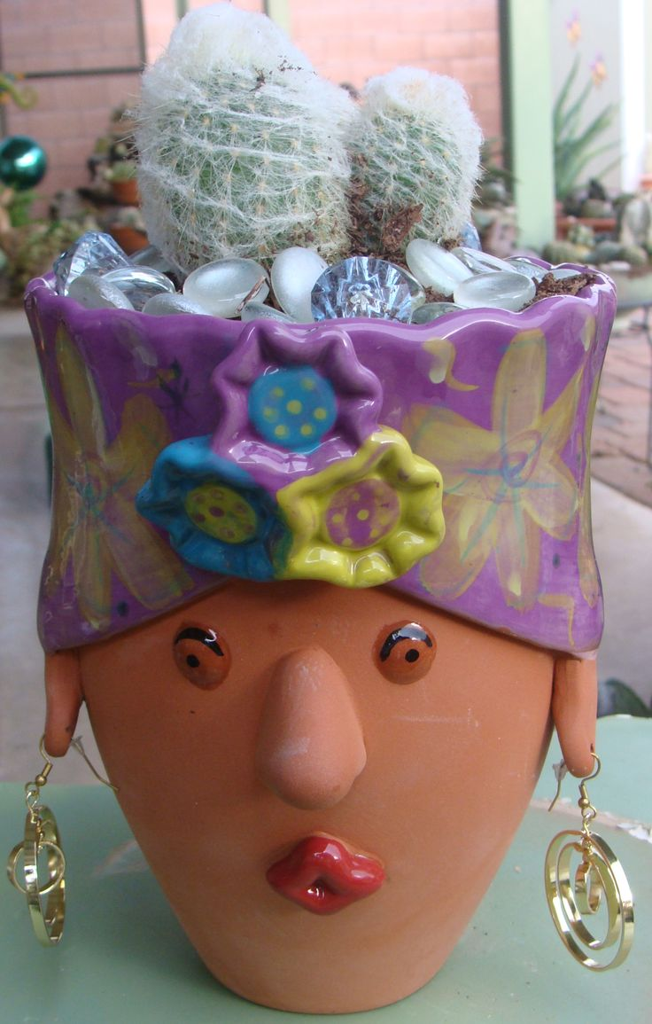 Silly Head Planter From Loweu0027s.