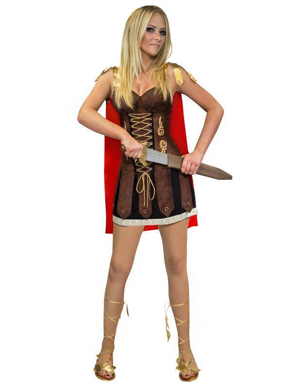 Sexy Gladiatorin!   Kategorie: Sexy Damenkostüme. Heiße Verkleidungen und Outfits für #Karneval und die nächste Mottoparty! #Fasching #Fasnacht #Kostüm