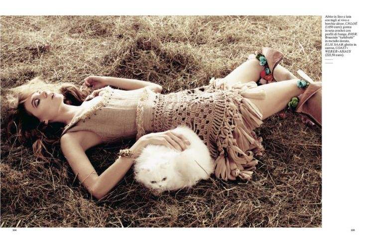 Natalie & Inna by David Roemer for Glamour Italia April 2011