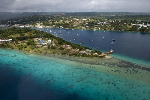 Port Vila, Vanuatu   One of the places I'll see oh so sooon!