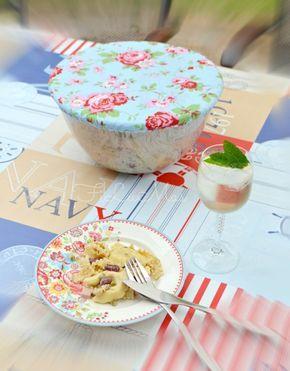 FiLuMas genähte Schätze: Ein neues DIY für euch! - die Salatschüsselhaube - Tutorial Salatschüsselhaube, recycling, nähen, upcycling, alltagshelden