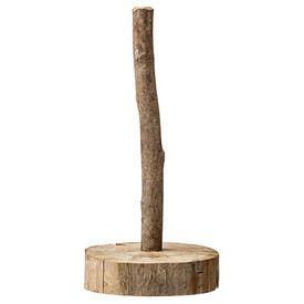 Køkkenrulleholder - Natur - Genbrugstræ - H:30 cm | Bloomingville A/S - Klik for mere information