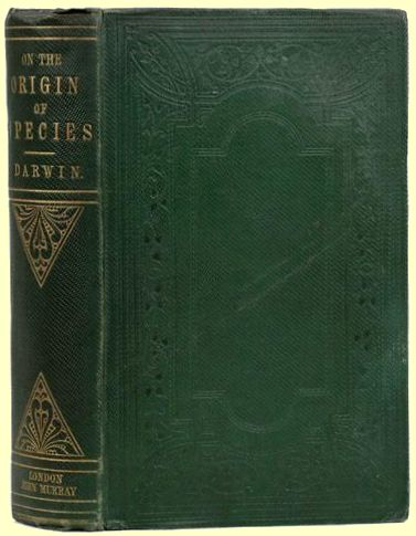 On the Origin of Species is published in November, 1859