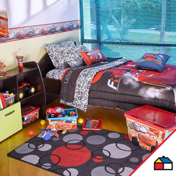 Decora la habitación de tus hijos con sus personajes favoritos.