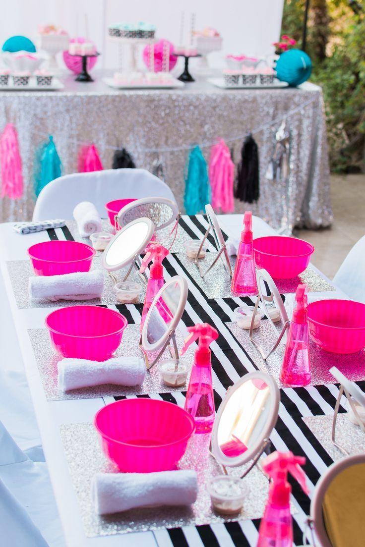 Nail Salon Birthday Party Ideas Kids Spa