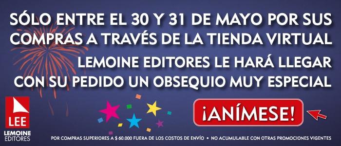 Ingrese a www.LibrosyEditores.com y compre sus libros ¡YA! Por compras superiores a COP $60.000