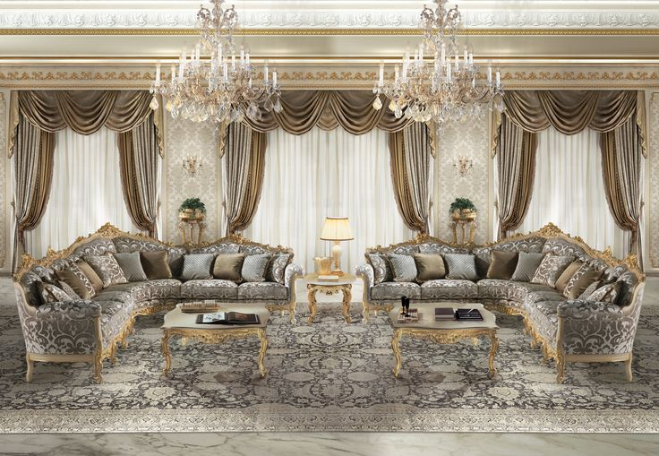 CECHOV Classic italian modular sofas for luxury living room
