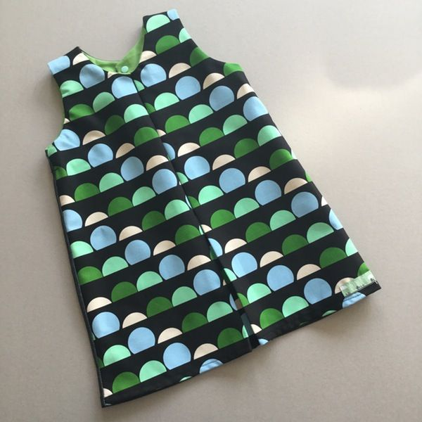 Image of Piper Dress - Green Sunset