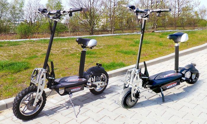 EveMotion GmbH: Elektrische Scooter: 800 Watt (€ 329,99) of 1000 Watt (€ 399,99) met gratis levering (31% Korting)